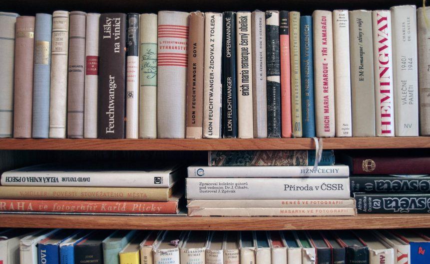 Free photo: Books In Bookshelf