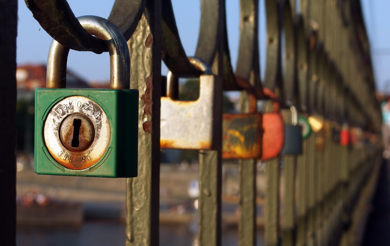 FREE IMAGE: Love Locks On The Bridge - Libreshot Public ...