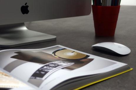 Designer's Desk In Office