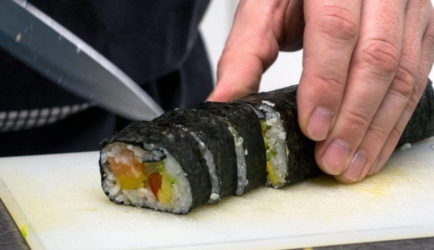 Free photo: Preparing Sushi
