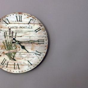 Free image: Vintage Rustic Wall Clock