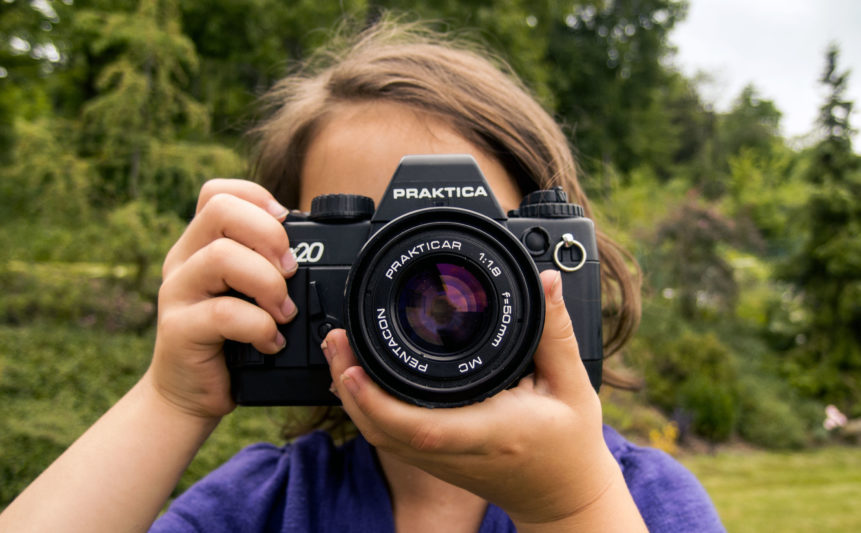 Free photo: Photographing Girl