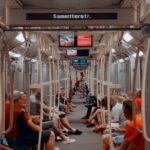 Free photo: People in subway wagon