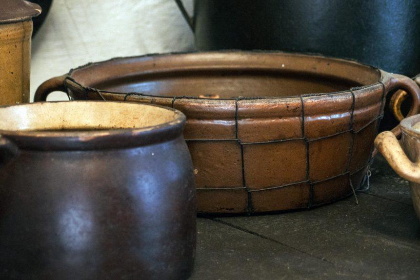 Free photo: Vintage Clay Kitchenware