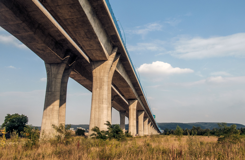 Highway Concrete Bridge Free Stock Photos Libreshot