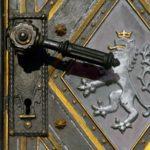 Free photo: Iron Door Handle