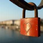Free photo: Love Lock With Heart