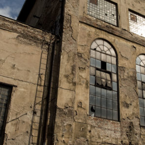 Free photo: Old Factory Building