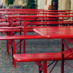 Free photo: Coffee Shop Outdoor Seating