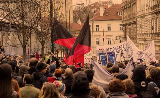 Free photo: Anarchist Demonstration