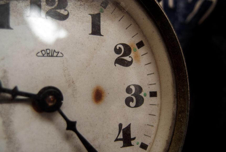 Free photo: Vintage alarm clock