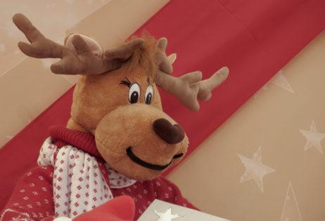 Plush Christmas Deer