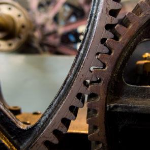 Steel cogwheel