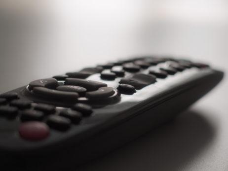 TV Remote Control Close Up