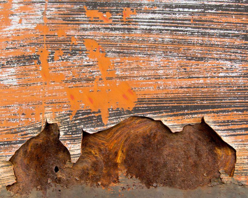 Orange Rusty Metal | Free Stock Photo