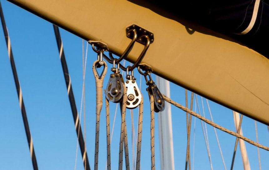 Sailboat Tackle   Free Stock Photo