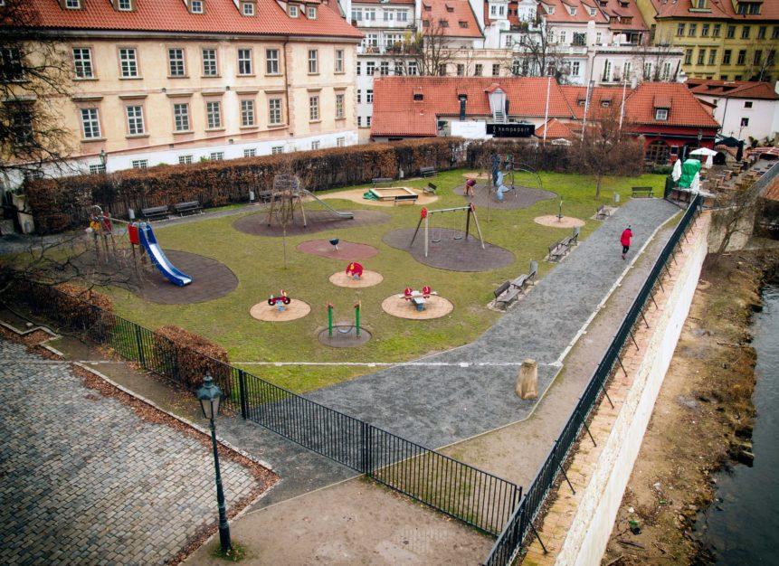 Children playground in Prague