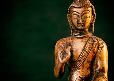 Bronze statue of the Buddha