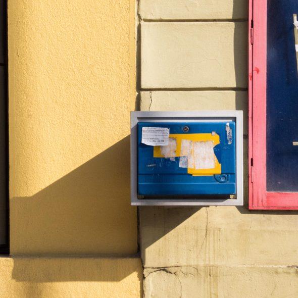 Post box on the street
