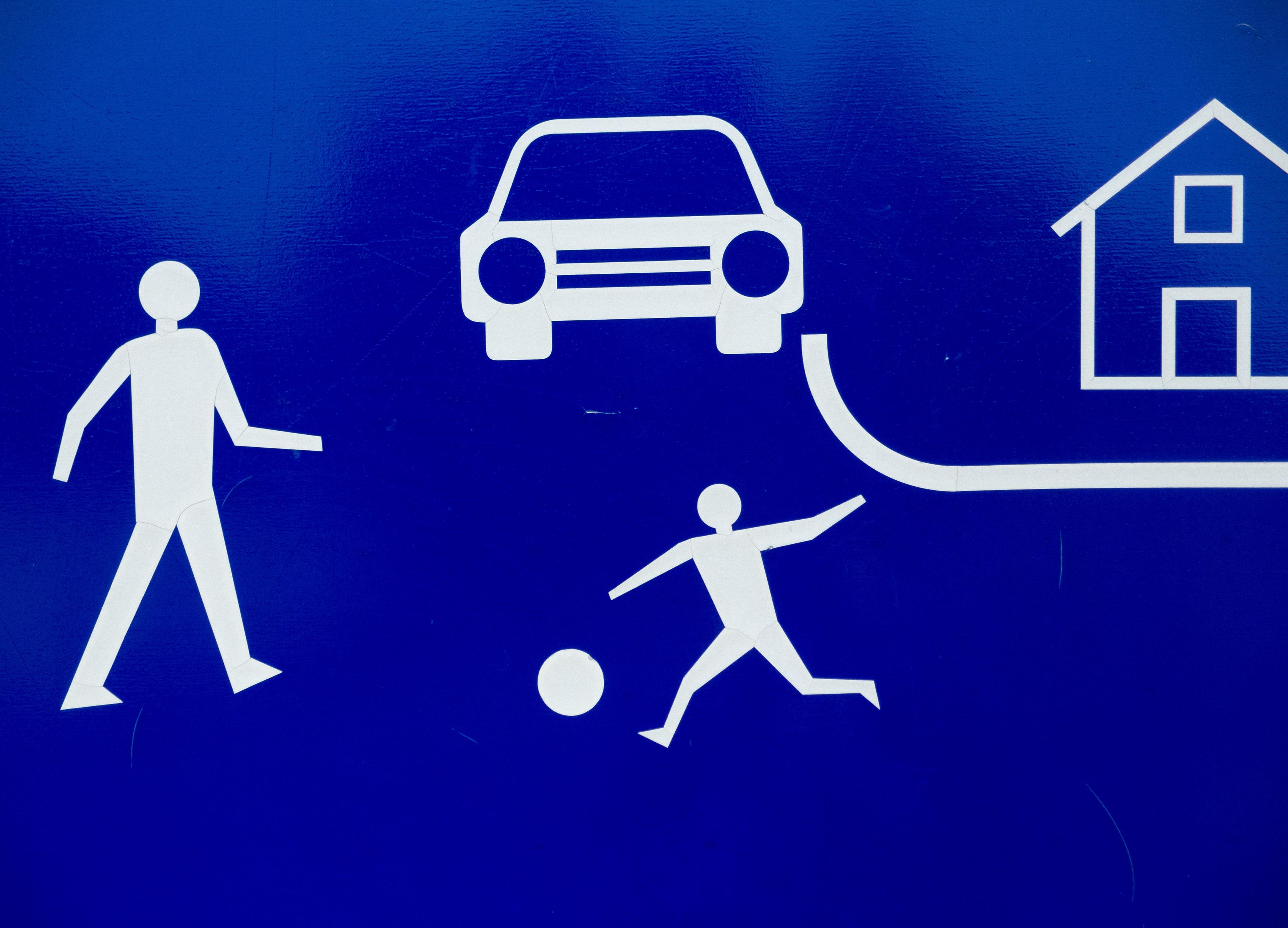 FREE IMAGE: Residential zone traffic sign - Libreshot ...