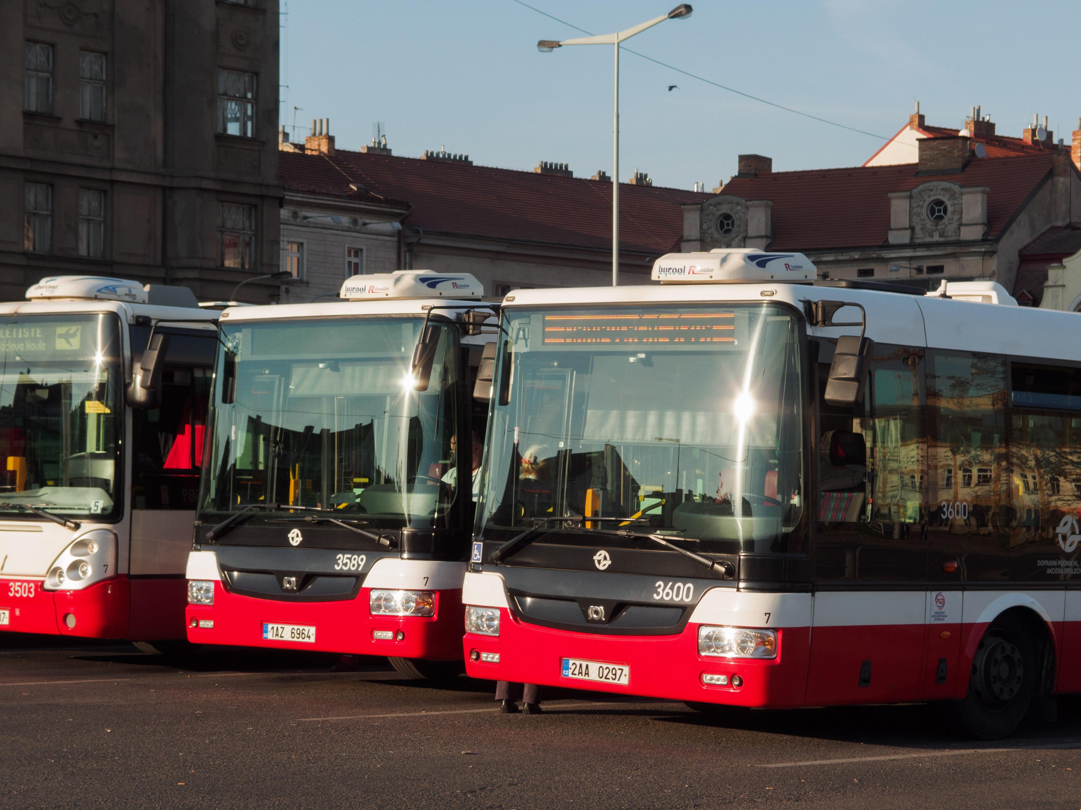 Europe bus