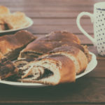 Image of sweet breakfast with coffee