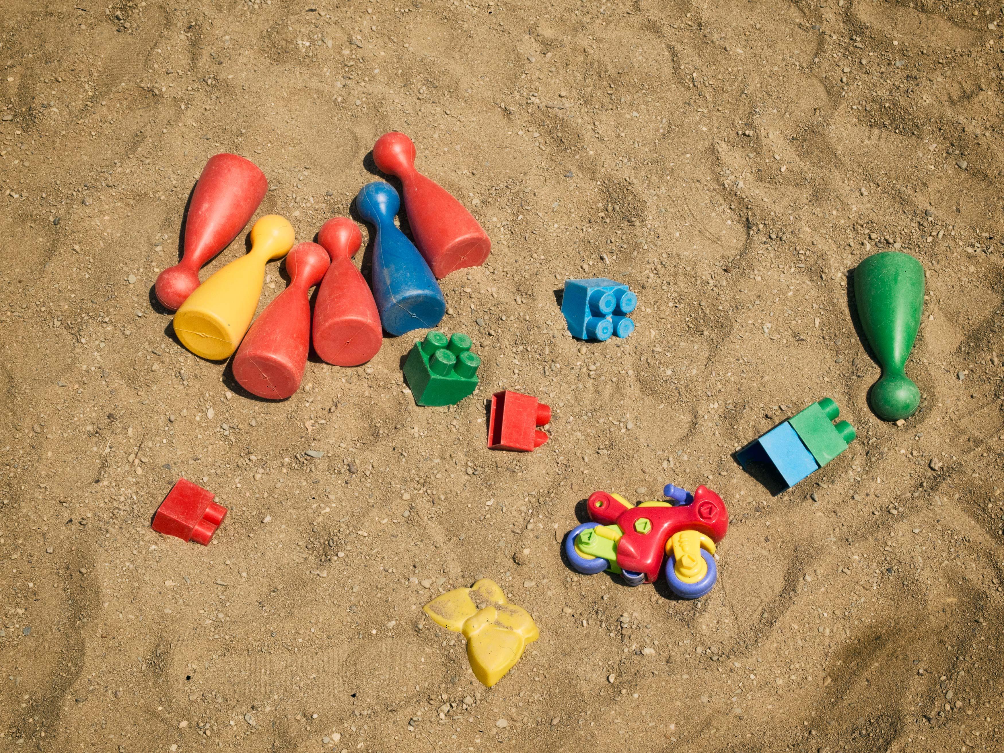Free Image Toys In The Sandbox Libreshot Public Domain Photos