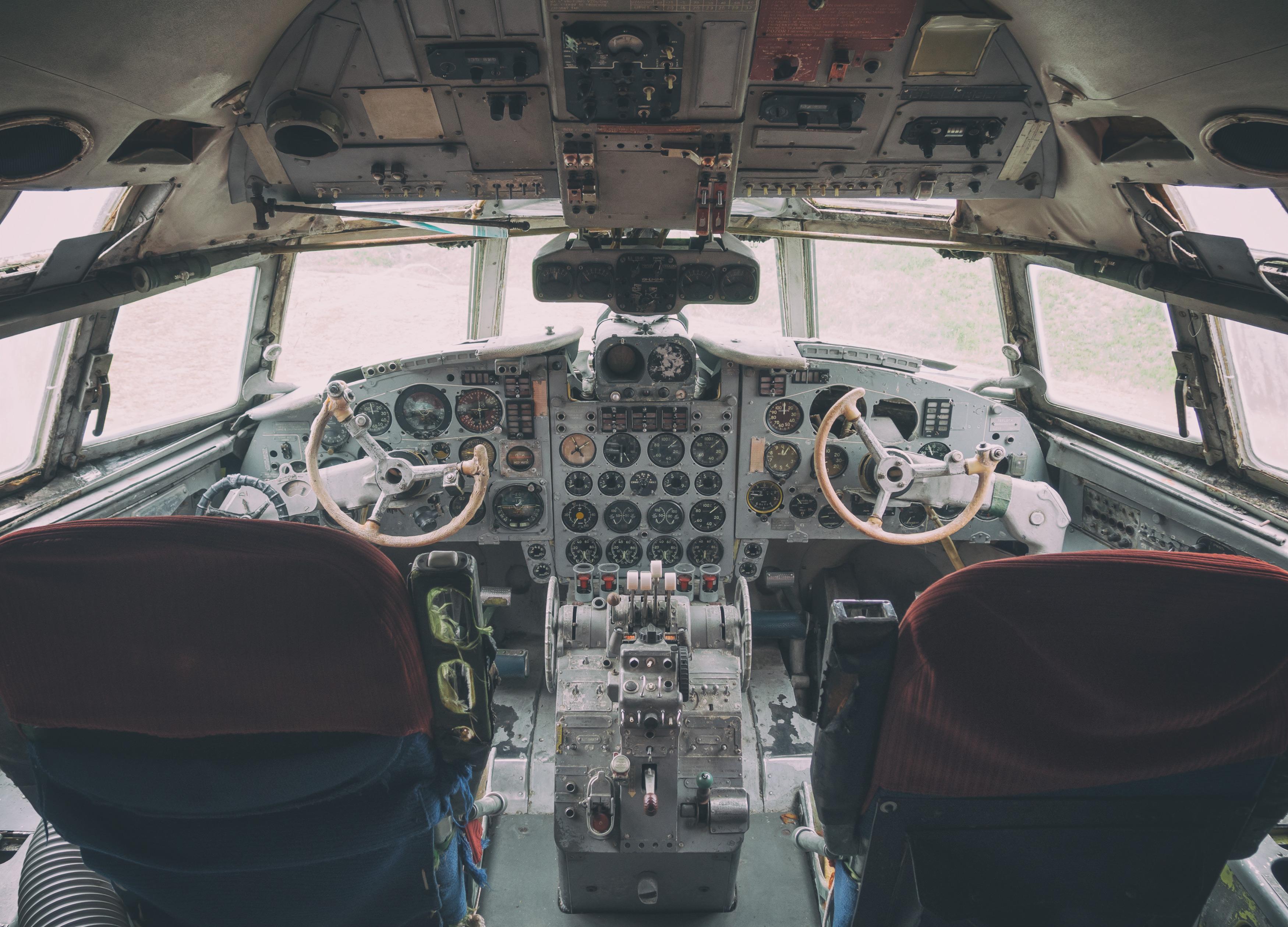 Aircraft Cockpit | FREE image on LibreShot