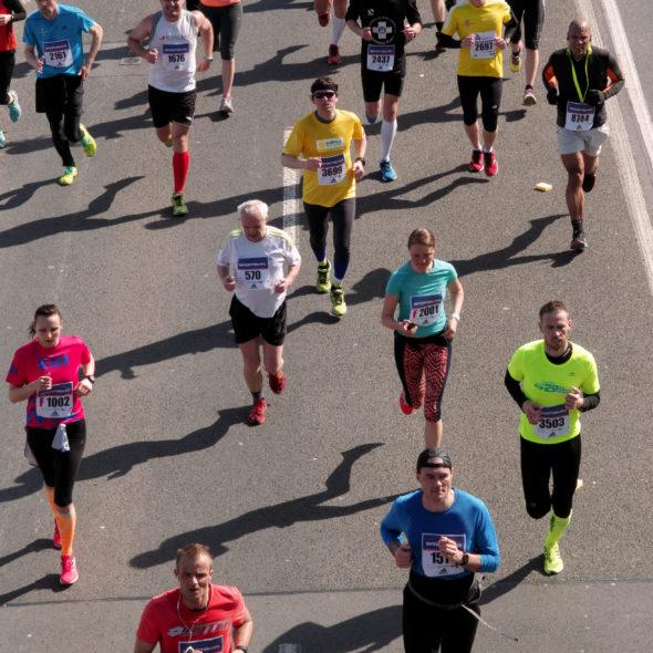 Free image of marathon runners