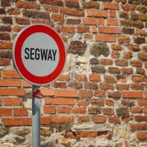 No Segway Sign