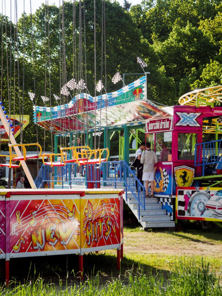 Swing Ride - Chain Carousel