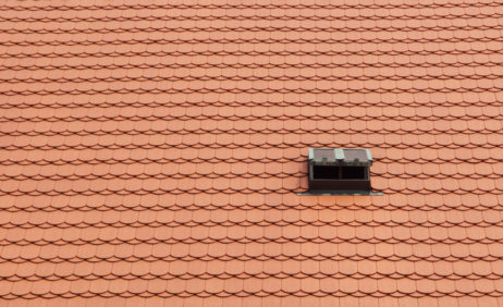 Red Tile Roof Window Background