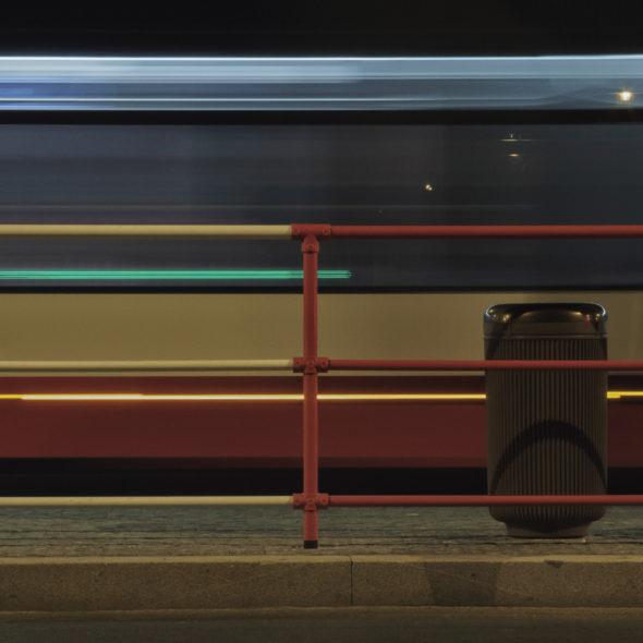 Night City Train Station