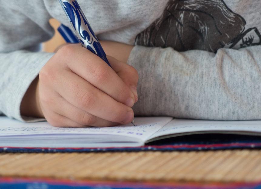 FREE IMAGE: Children Writes In School - Libreshot Public ...
