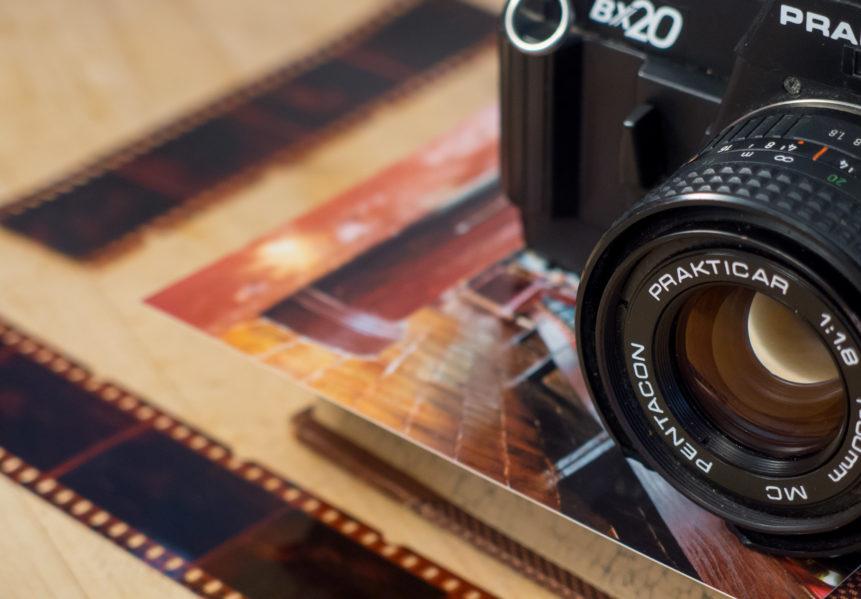 Analog SLR Camera And Film