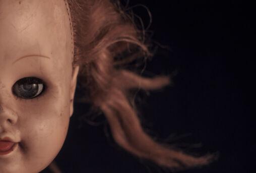 Strange Look Of Creepy Doll