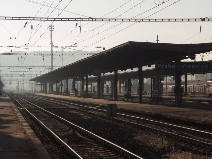 Morning At Railway Station