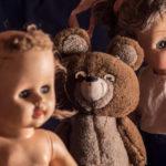 Vintage Dolls And Teddy Bear