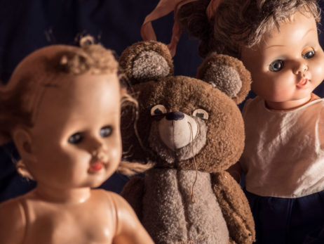 Vintage Dolls And Teddy Bear