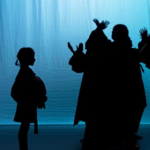 Magical shadow theater