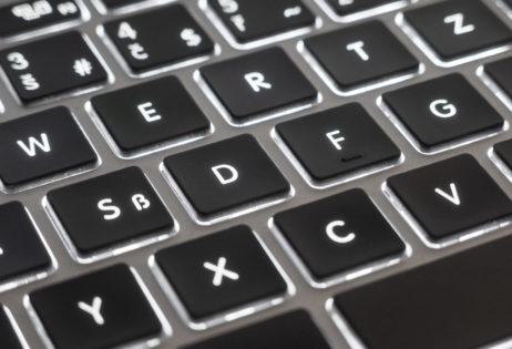 MacBook Air Keyboard Detail
