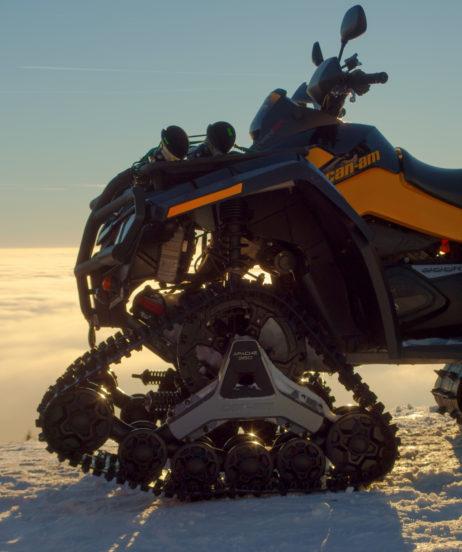 Snow ATV Quad Bike