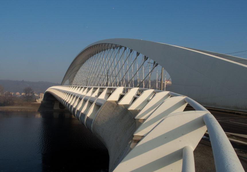 Modern White Bridge