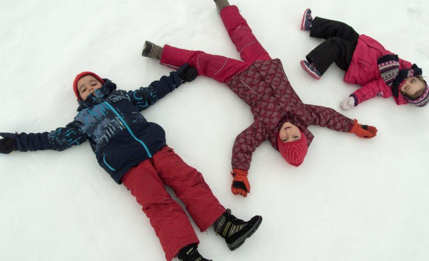 Children On The Snow