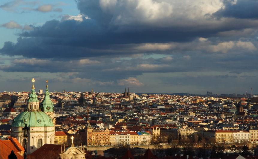 Prague City Landscape