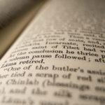 Inside Of A Book Close Up