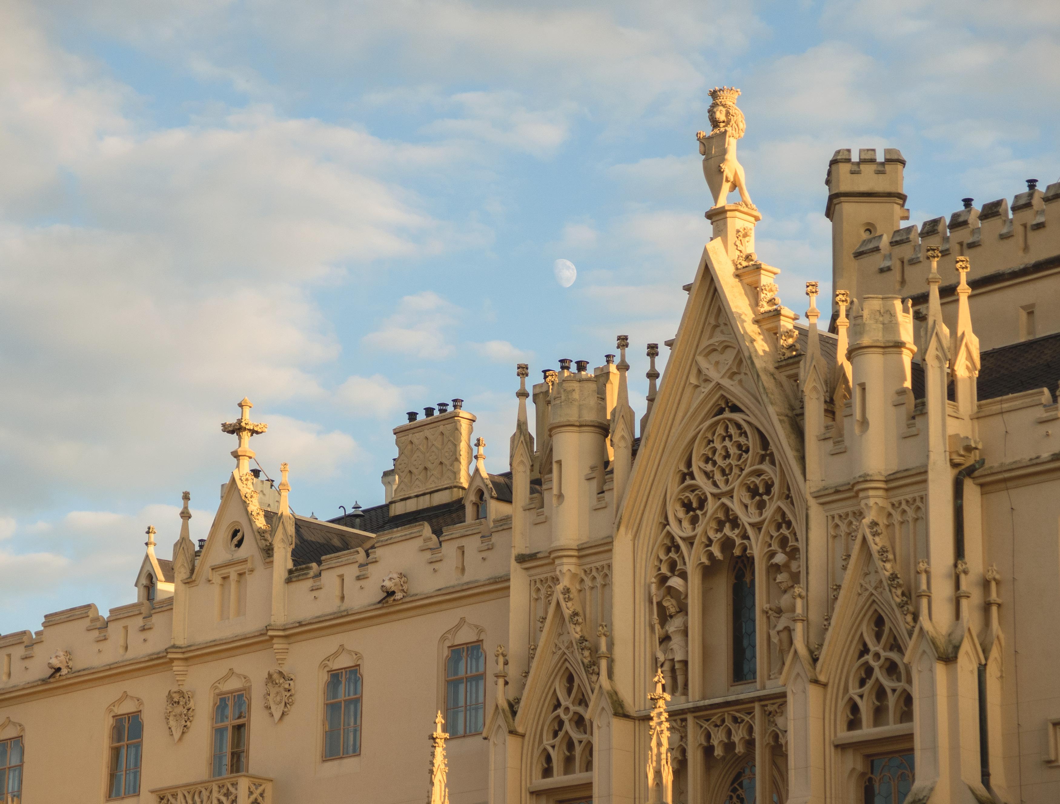 Free Image Neo Gothic Style Castle Lednice