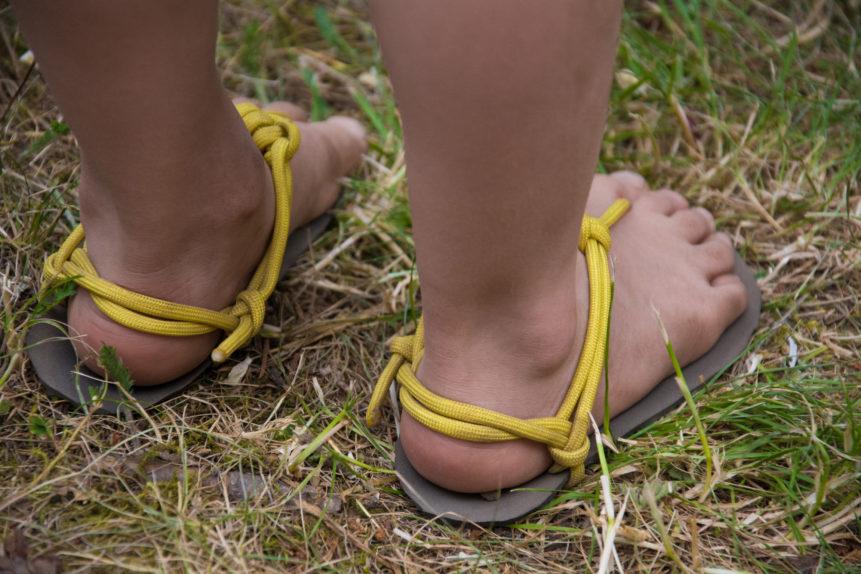 barefoot children's sandals