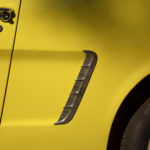 Classic Yellow Car Detail