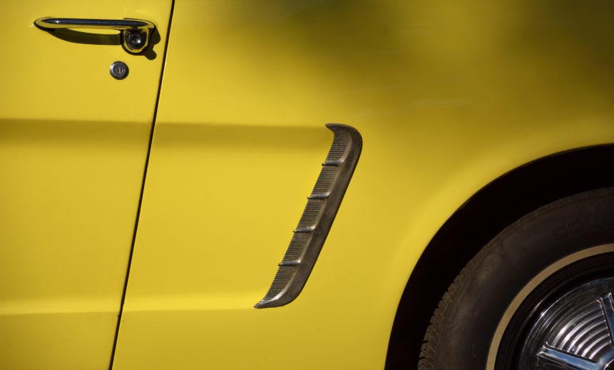 FREE IMAGE: Classic Yellow Car Detail - Libreshot Public ...